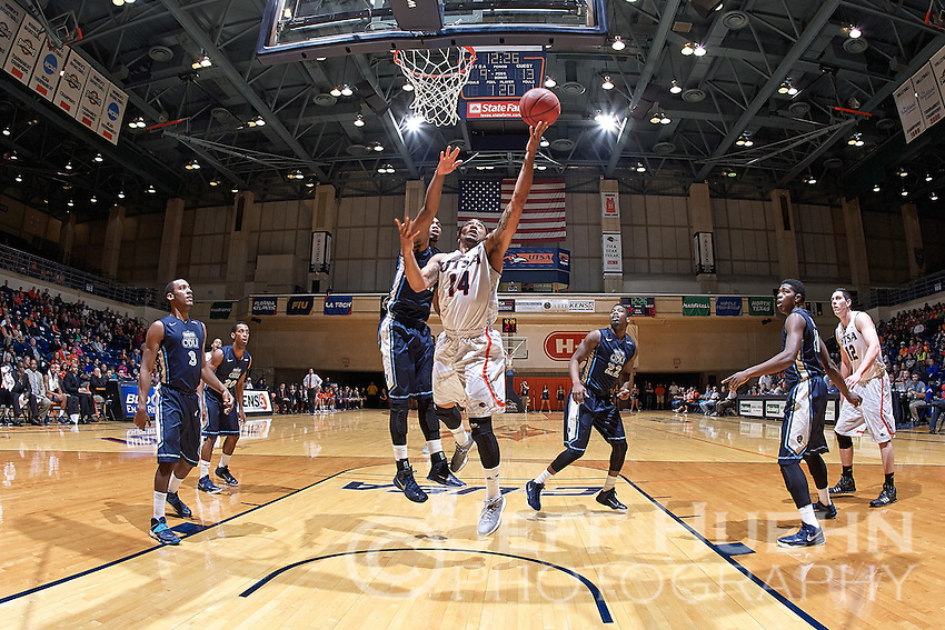 SAN ANTONIO, TX - FEBRUARY 12, 2015: The Old Dominion University Monarchs fall to the University of Texas at San Antonio Roadrunners 72-67 at the UTSA Convocation Center. (Photo by Jeff Huehn)