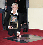Glenn Close Honored with the 2,378th Star on the Hollywood Walk of Fame Hollywood, Ca. January 12, 2009. Fitzroy Barrett
