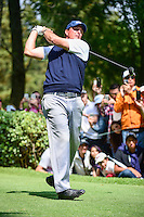 Phil Mickelson (USA) watches his tee shot on 8 during round 4 of the World Golf Championships, Mexico, Club De Golf Chapultepec, Mexico City, Mexico. 3/5/2017.<br /> Picture: Golffile | Ken Murray<br /> <br /> <br /> All photo usage must carry mandatory copyright credit (&copy; Golffile | Ken Murray)