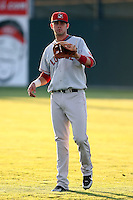 September 11 2008:  First round draft pick Casey Kelly of the Lowell Spinners, Class-A affiliate of the Boston Red Sox, during a game at Dwyer Stadium in Batavia, NY.  Photo by:  Mike Janes/Four Seam Images