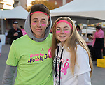 Aidan and Macey during the Susan G. Koman Race for the Cure in Reno, Nevada on Sunday, October 15, 2017.