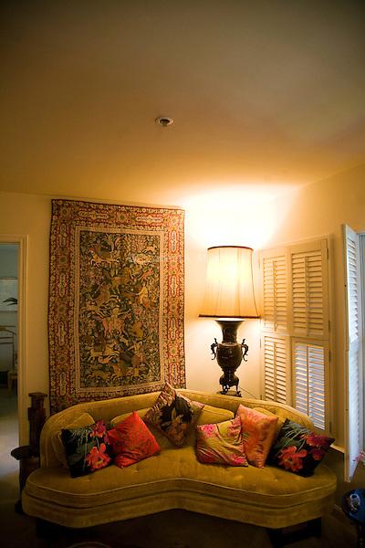 Grandma's apartment in San Antonio.