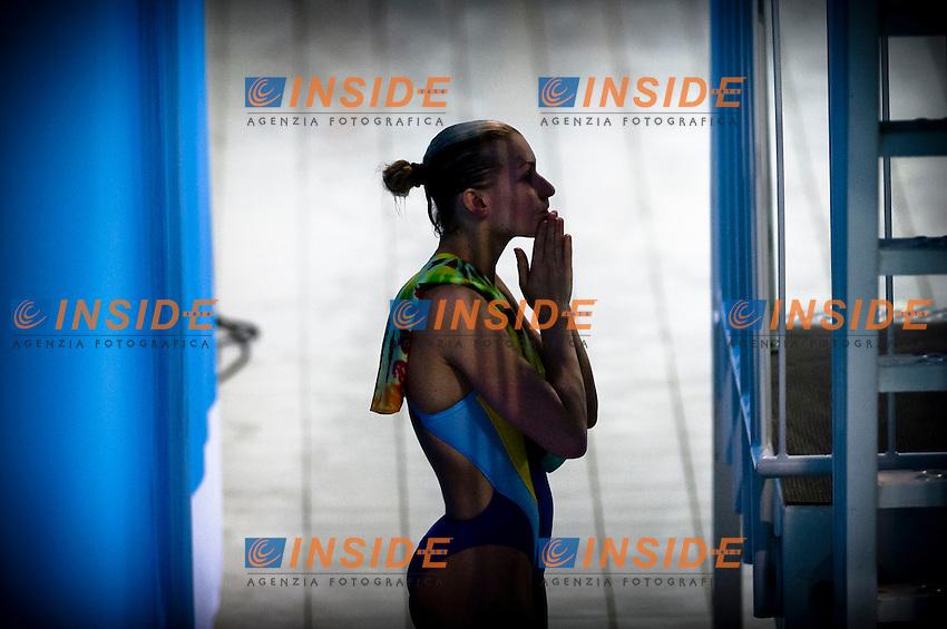 Olena Fedorova (UKR) bronze medal.Diving European Championships Eindhoven 2012.Women's 3m springboard - final.Eindhoven (Netherlands), 19/05/2012.Diving  .Foto Insidefoto / Giorgio Perottino