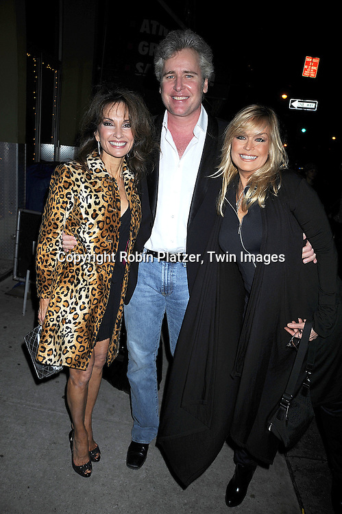 Susan Lucci, Michael E Knight and Catherine Hickland..at The All My Children Christmas Party on December 15, 2008 at Prohibition Restauant in New York City. ....Robin Platzer, Twin Images