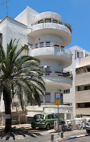The Bauhaus style building at 15 Dov Hos Street. Tel Aviv is known as the White City in reference to its collection of 4,000 Bauhaus style buildings, the largest number in any city in the world. In 2003 the Bauhaus neighbourhoods of Tel Aviv were placed on the UNESCO World Heritage List.
