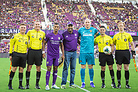Orlando, FL - Tuesday August 06, 2019: 2019 US Open Cup Semi-Final home game between Orlando City SC and Atlanta United FC at Exploria Stadium.