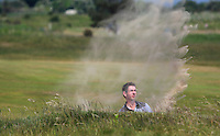 William Russell (Clandeboye) on the 2nd during Round 4 of the East of Ireland Amateur Open Championship sponsored by City North Hotel at Co. Louth Golf club in Baltray on Monday 6th June 2016.<br /> Photo by: Golffile   Thos Caffrey