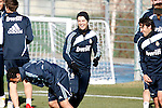 Madrid (24/02/10).-Entrenamiento del Real Madrid..Cristiano Ronaldo, Marcelo y Raul...© Alex Cid-Fuentes/ ALFAQUI..Madrid (24/02/10).-Training session of Real Madrid c.f..Cristiano Ronaldo, Marcelo and Raul...© Alex Cid-Fuentes/ ALFAQUI.