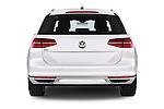 Straight rear view of 2016 Volkswagen Passat-Variant GTE 5 Door wagon Rear View  stock images