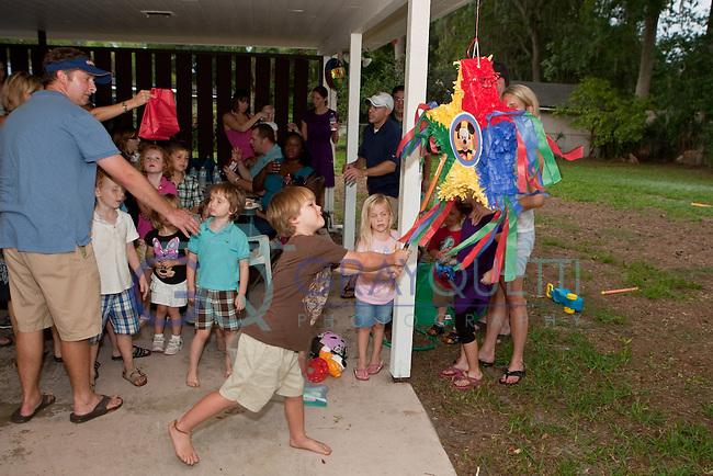 September 25, 2011:  Sophia Bueker's 3rd birthday party