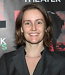 Sarah Cameron Sunde attending the Opening Night Performance of The Rattlestick Playwrights Theater Production of 'A Summer Day' at the Cherry Lane Theatre on 10/25/2012 in New York.