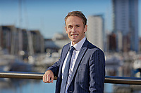 Matthew Wiggall, company director of Fresh Estate and Letting Agents at Swansea Marina, south Wales, UK. Thursday 18 October 2018