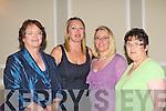 Margaret, Sandra Fitzmaurice, Ciara Irwin Foley and Margaret Fitzmaurice-Sheehy having fun at the Killarney Rotary club afternoon fashion show in the Malton Hotel Killarney on Saturday .