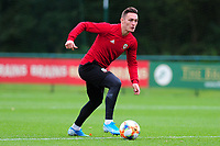 Connor Roberts of Wales during the Wales Training Session at The Vale Resort in Cardiff, Wales, UK. Monday 07 October 2019