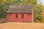 Nathan Hale schoolhouse. 1750. E. Haddam, CT.