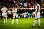 25.07.2017, Stadion Galgenwaard, Utrecht, NLD, Tilburg, UEFA Women's Euro 2017, Russland (RUS) vs Deutschland (GER), <br /> <br /> im Bild | picture shows<br /> DFB Reservebank erwartet den Strafstoss von Dzsenifer Marozsan (Deutschland #10) | (Germany #10), <br /> <br /> Foto © nordphoto / Rauch