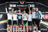 Picture by Simon Wilkinson/SWpix.com - 16/05/2017 - Cycling Tour Series Round 4 Wembley Park - London. Brother Corporate Grand Prix