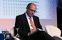 SAO PAULO, SP - 06.06.2017 - CIAB-FEBRABAN - O Governador Geraldo Alckmin durante Ciab Febraban 2017 na manhã desta terça-feira (6) no Expo Transamérica, zona sul de São Paulo.(Foto: Fabricio Bomjardim / Brazil Photo Press)
