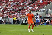 01.08.2015. Cologne, Germany. Pre Season Tournament. Colonia Cup. Valencia CF versus FC Porto.  Alvaro Negredo not happy to be caught offside.