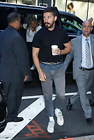 NEW YORK, NY- August 07: Shia LaBeouf at Good Morning America in New York City on August 7, 2019. <br /> CAP/MPI/RW<br /> ©RW/MPI/Capital Pictures