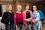 Enjoying the Lee Strand Social at Ballygarry House Hotel on Saturday were Ann Savage, Sheila Hanafan, Kathleen Godley, Rita Henry