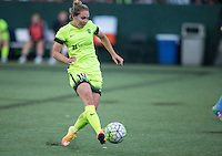Seattle, WA - Saturday July 23, 2016: Manon Melis during a regular season National Women's Soccer League (NWSL) match between the Seattle Reign FC and the Orlando Pride at Memorial Stadium.