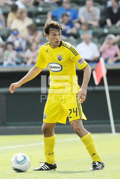 Jed Zayner...Kansas City Wizards were defeated 1-0 by Columbus Crew at Community America Ballpark, Kansas City, Kansas.