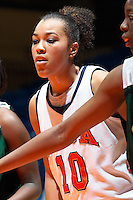 SAN ANTONIO, TX - MARCH 6, 2006: The Southeastern Louisiana University Lions vs. The University of Texas at San Antonio Roadrunners Women's Basketball at the UTSA Convocation Center. (Photo by Jeff Huehn)