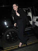 Liv Tyler at the Dunhill &amp; Dylan Jones BAFTAs Filmmakers Dinner &amp; Party, Bourdon House, Davies Street, London, England, UK, on Wednesday 06th February 2019.<br /> CAP/CAN<br /> &copy;CAN/Capital Pictures