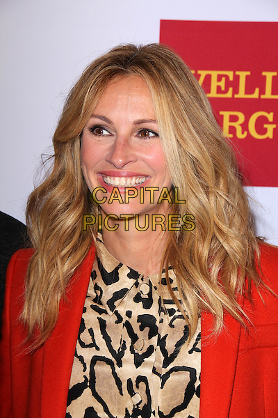 BEVERLY HILLS, CA - OCTOBER 17: Julia Roberts at the 10th Annual GLSEN Respect Awards at the Regent Beverly Wilshire in Beverly Hills, CA on October 17, 2014.   <br /> CAP/MPI/DE/DC<br /> &copy;David Edwards/DailyCeleb/MediaPunch/Capital Pictures