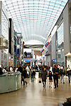 People in Yorkdale Shopping Centre Toronto shopping mall one of the largest shopping malls in Canada