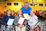 Full House Liz Kelleher, Mary Shanahan, Joan Moran and Denis Guerin from Connolly Park, Tralee. enjoying the Monster Charity Bingo in aid of Kerry Cancer Support Group at the Castleisland Community Centre on Tuesday