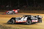 Sep 12, 2010; 12:27:06 AM; Rossburg, OH., USA; The 40th annual running of the World 100 Dirt Late Models racing for the Globe trophy at the Eldora Speedway.  Mandatory Credit: (thesportswire.net)