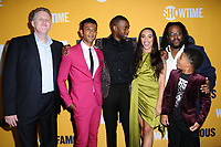 "27 September  2017 - West Hollywood, California - Michael Rapaport, Utkarsh Ambudkar, Lonnie Chavis, Jay Pharoah, Cleopatra Coleman, Jacob Ming-Trent. World premiere of Showtime's ""White Famous"" held at The Jeremy in West Hollywood. Photo Credit: Birdie Thompson/AdMedia"