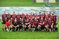 The Canterbury team poses for a group photo after the 2017 National Police Rugby Tournament rugby union match between Bay of Plenty and Canterbury at Rotorua International Stadium in Rotorua, New Zealand on Friday, 1 September 2017. Photo: Dave Lintott / lintottphoto.co.nz