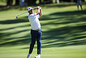 10th February 2018, Lake Karrinyup Country Club, Karrinyup, Australia; ISPS HANDA World Super 6 Perth golf, third round; Lee Westwood (ENG) plays a shot