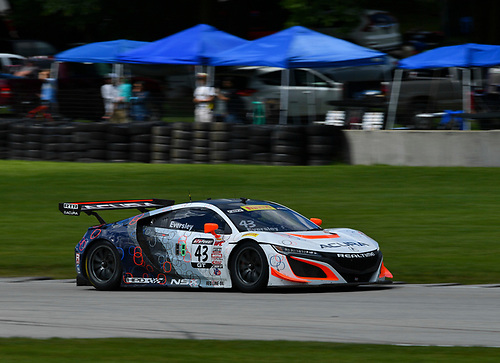 Pirelli World Challenge<br /> Grand Prix of Road America<br /> Road America, Elkhart Lake, WI USA<br /> Sunday 25 June 2017<br /> Ryan Eversley<br /> World Copyright: Richard Dole/LAT Images<br /> ref: Digital Image RD_USA_00327