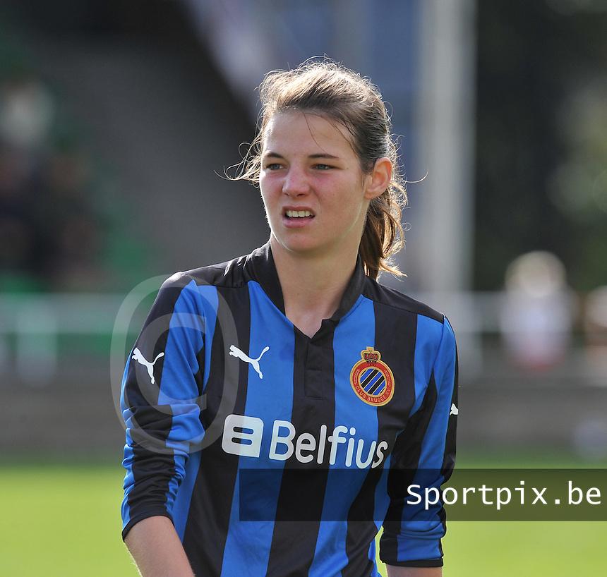 Club Brugge Dames : Nicky Van Den Abbeele .foto DAVID CATRY / Vrouwenteam.be