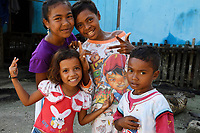 """People in Eastern Misool Island, Raja Ampat, Western Papua, Indonesian controlled New Guinea, on the Science et Images """"Expedition Papua, in the footsteps of Wallace"""", by Iris Foundation"""