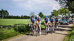 KTM road-and-trail.com (KTM), Stage 2: Team Time Trial, 62th Olympia's Tour, Netterden, The Netherlands, 13th May 2014, Photo by Pim Nijland / Peloton Photos