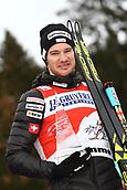 7th January 2018, Val di Fiemme, Fiemme Valley, Italy; FIS Cross Country World Cup, Tour de ski; Mens 9km F Pursuit; Dario Cologna (SUI)celebrates his win
