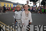 Luke Skywalker(Finn O'Neill) and Princess Leah(Lola O'Neill) at the Cahersiveen Festival in Cahersiveen on Friday last.