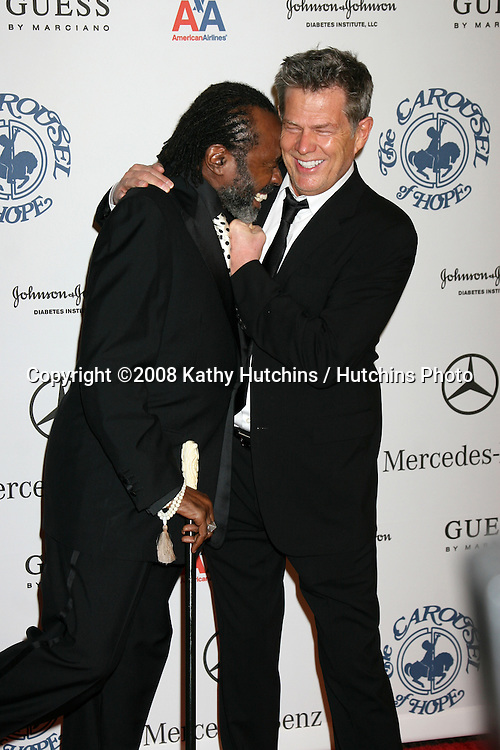 Ben Vereen & David Foster arriving to the Carousel of Hope Ball at the Bevelry Hilton Hotel, in Beverly Hills, CA  on.October 25, 2008.©2008 Kathy Hutchins / Hutchins Photo...                .