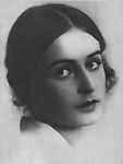 Нина Яковлевна Шатерникова — советская актриса театра и кино.1929 год. / Nina Shaternikova - Soviet actress of theater and cinema.