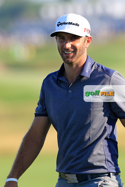 Dustin JOHNSON (USA) walks to the 16th tee during Saturday's Round 3 of the 97th US PGA Championship 2015 held at Whistling Straits, Mosel, Kohler, Wisconsin, United States of America. 15/08/2015.<br /> Picture Eoin Clarke, www.golffile.ie