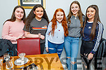 Eva Nolan from Kilflynn celebrating her 15th birthday in Bella Bia on Saturday<br /> L to r: Anna Kerdzaia, Isabel Ryan, Eva Nolan, Niamh Quinn and Casey Borst