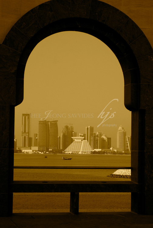 View of West Bay from the Museum of Islamic Art, Doha, Qatar | Dec 08
