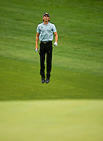 Golfer Camilo Villegas works the course during the Quail Hollow Championship golf tournament 2009. The event, formerly called the Wachovia Championship, is a top event on the PGA Tour, attracting such popular golf icons as Tiger Woods, Vijay Singh and Bubba Watson. Photo from the second round in the Quail Hollow Championship golf tournament at the Quail Hollow Club in Charlotte, N.C., Friday, May 01, 2009.