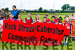 Parade & opening ceremony at the Community Games  at An Riocht Castleisland  on Saturday