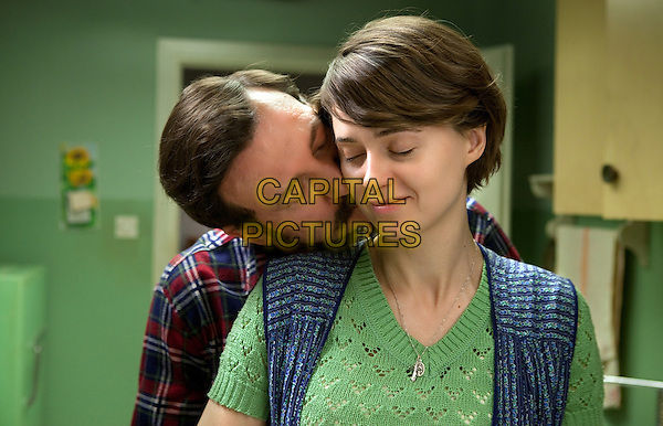 Agnieszka Grochowska, Robert Wieckiewicz<br /> in Walesa: Man of Hope (2013) <br /> (Walesa. Czlowiek z nadziei)<br /> *Filmstill - Editorial Use Only*<br /> CAP/NFS<br /> Image supplied by Capital Pictures